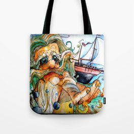 Old Man & The Sea  Tote Bag
