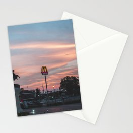 Ode to Late Night McDicks Stationery Cards