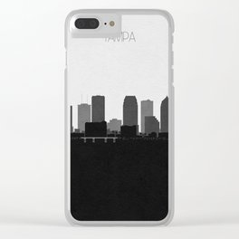 City Skylines: Tampa Clear iPhone Case