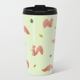 Red Squirrels Travel Mug