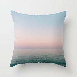 Summer Road Trip Throw Pillow