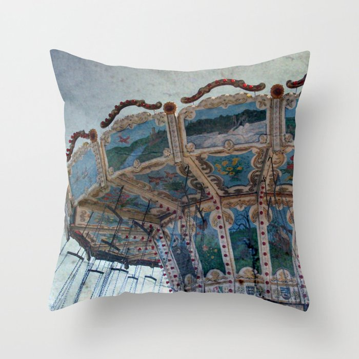 Superb Merry Go Round Throw Pillow By Anneseltmann Gamerscity Chair Design For Home Gamerscityorg