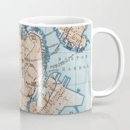 Vintage Map of Boston MA (1906) Coffee Mug