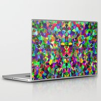 kaleidoscope Laptop & iPad Skins featuring Kaleidoscope  by Glanoramay