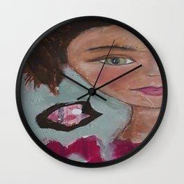 Occhi verdi  Wall Clock