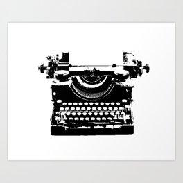 typewriter Kunstdrucke