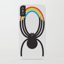 Spiders Are Rainbows iPhone Case