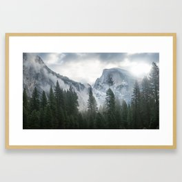 Majestic Mountain Framed Art Print