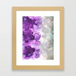 Amethysta Framed Art Print