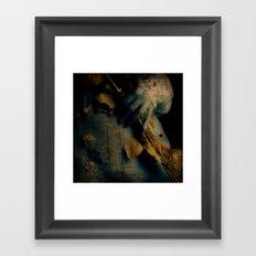 Dead beauty Framed Art Print