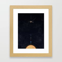 August 25, 2012 Framed Art Print