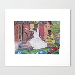 UGANDA Scene       by Kay Lipton Canvas Print