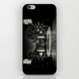 Night Cyclist iPhone Skin
