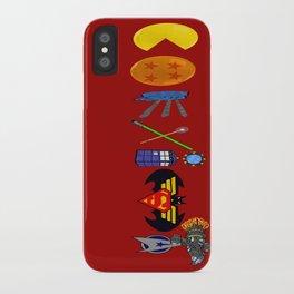 Geekiest Coexist - Centered iPhone Case