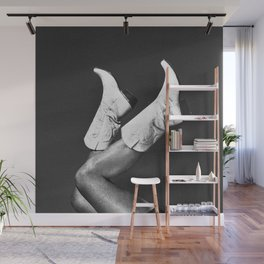 These Boots - Noir Wall Mural