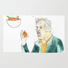 Gary Busey Eats a Peach Rug