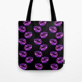 Galaxy Lips Tote Bag