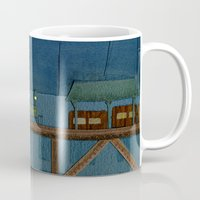 broadway Mugs featuring Fantastic Broadway Awaits You by Aram Kim