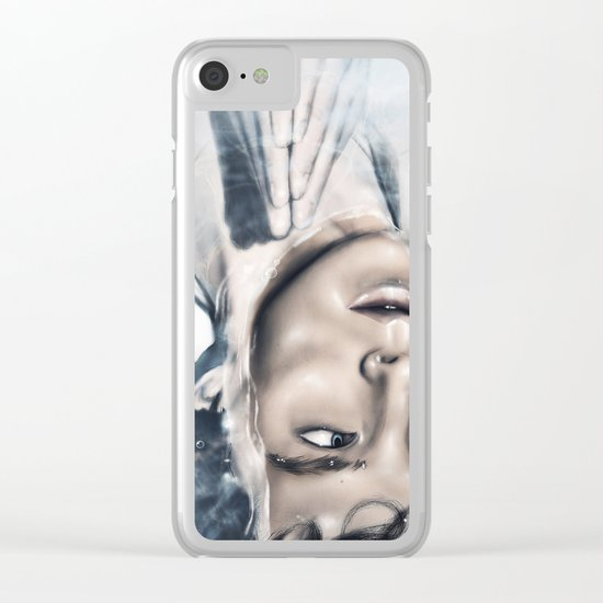 Mind Palace Clear iPhone Case