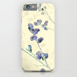 Pussy Willows 4 - IA iPhone Case