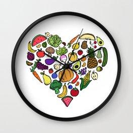 Vegan Love Wall Clock