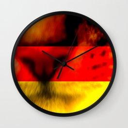 katze Wall Clock