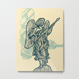 Rome-Angel with the Lance Metal Print
