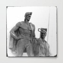 Ukrainian workers  [ver.2] Metal Print