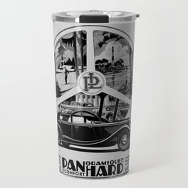 Panhard 1936 classic French art deco auto Travel Mug