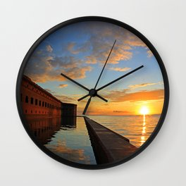 Fort Jefferson, Dry Tortugas Wall Clock