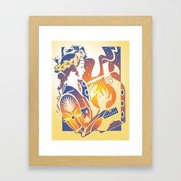 Saint Cecelia Framed Art Print