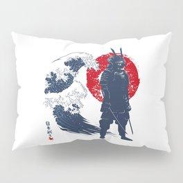 Wave Samurai Pillow Sham