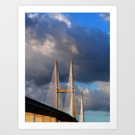 Bridging the Gap Art Print