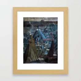 Leagues Under Framed Art Print
