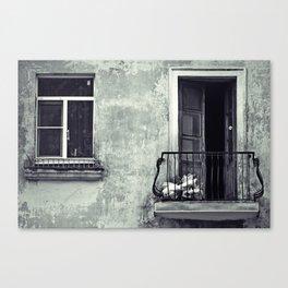 Entrance-Exit Canvas Print