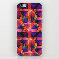 Abstract blocks pattern 2 iPhone & iPod Skin