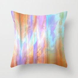 Refractination Colors Throw Pillow
