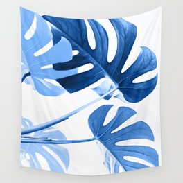 Urban jungle - blues Wall Tapestry