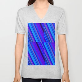 Re-Created Cross No. 7 by Robert S. Lee Unisex V-Neck
