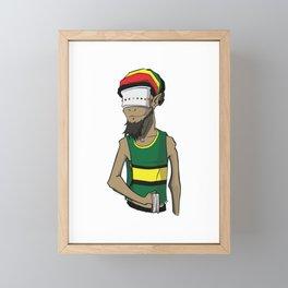 Goat v2 Framed Mini Art Print