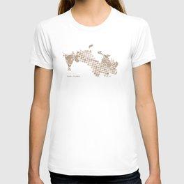 Aspen Colorado watercolormap T-shirt