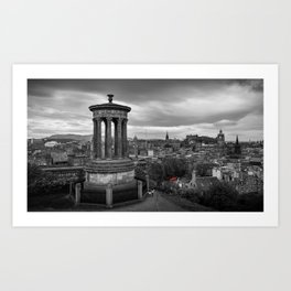 Carlton Hill, Edinburgh Art Print