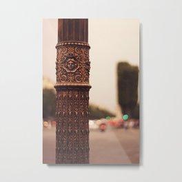 Paris details Metal Print