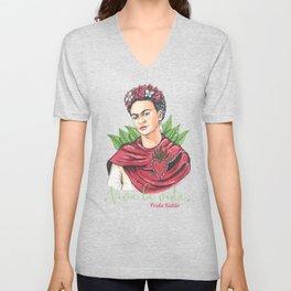 Frida Viva la vida Unisex V-Neck