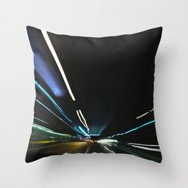 Traffic in warp speed2 Throw Pillow