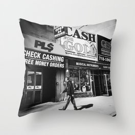 Cash for Gold Throw Pillow