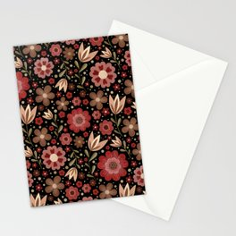 Summer floral pattern No. 2 Stationery Cards