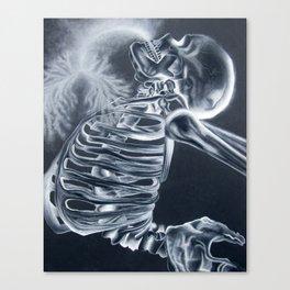 Breathing X-Rays Canvas Print