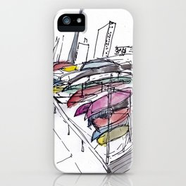 Harbourfront Boats iPhone Case