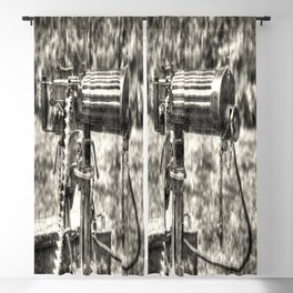 Vickers Machine Gun Vintage Blackout Curtain
